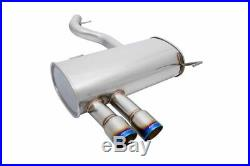 MEGAN RACING AXLE BACK EXHAUST With STAINLESS BURNT TIPS FOR 07-11 E90 E92 328