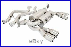 MEGAN RACING SUPREMO AXLE BACK EXHAUST With ROLLED TIPS FOR 2008-2013 BMW E92 M3