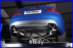 MILLTEK Cat Back Race System Exhaust SSXAU357 Audi S5 Coupé Cab 3.0 Quattro B8