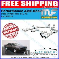 Magnaflow Race Series SS Axle-Back 2015-16-17-18-19-20 Challenger 3.6L V6 #19218