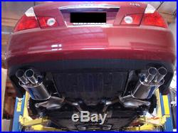 Megan Racing Axle Back Exhaust Dual Tip Mufflers AWD RWD FITS Infiniti M35 M45