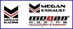 Megan Racing Axle Back Exhaust For Mercedes Benz CLA250 2014+ Burnt Rolled Tips