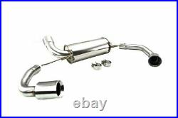 Megan Racing Axle-Back Exhaust System Supremo for Bmw 3-Series 2019+ G20 RWD