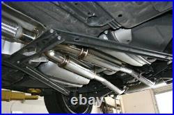 Megan Racing Axle Back Exhaust for Lexus SC430 01-10 Polish Tip