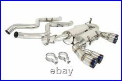 Megan Racing Burnt Rolled Tip Supremo Axle-Back Exhaust For BMW M3 (E90) 08 11
