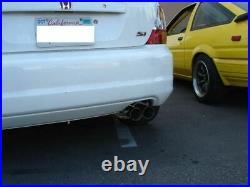 Megan Racing Dual Tips Axle-Back Exhaust For Honda Civic SI Hatchback 02 05