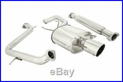 Megan Racing Oe-rs Series Cat Back Exhaust For 00-05 Mitsubishi Eclipse V6