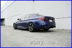 Megan Racing Supremo Axle-Back Exhaust System BMW M5 F90 2018+ Stainless Tip