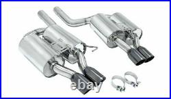 Megan Racing Supremo Axle Back Exhaust System Black Chrome for BMW E60 M5 05-10