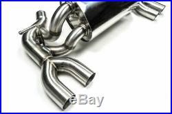 Megan Racing Supremo Stainless Cat Back Exhaust System For 2016-2019 Bmw F22 M2