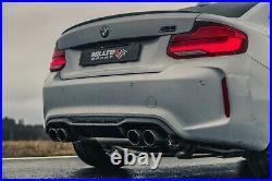 Milltek BMW M2 Competition Exhaust RACE System GPF Back Carbon Tips SSXBM1085