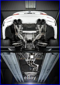 Milltek Bmw M3 F80 M4 F82 Exhaust Cat Back RACE System Quad Black GT90 SSXBM996