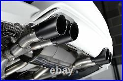 Milltek Bmw M3 F80 M4 F82 F83 Exhaust Cat Back RACE System Quad Black SSXBM996
