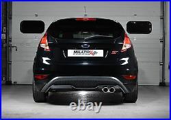 Milltek Exhaust Cat Back Fiesta ST180 ST200 RACE SYSTEM Resonated SSXFD101