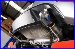 Milltek Golf GTI MK6 Exhaust Cat Back 3 Race System Res Rear Silencer SSXVW145