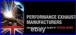 Milltek Golf R MK7 Cat Back Exhaust RACE System ROAD+ 3 Non Valved Black GT100
