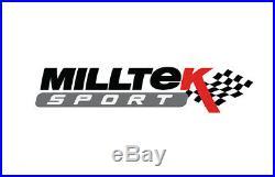Milltek Mercedes A35 AMG 2.0T Exhaust Cat Back RACE System NON VALVE 3 SSXMZ132