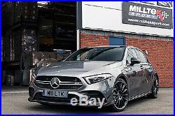Milltek Mercedes A35 AMG 2.0T Exhaust GPF Back RACE System VALVED 3 SSXMZ129