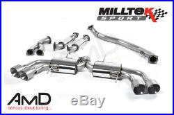 Milltek Nissan GT-R R35 Primary Cat Back Exhaust Race System SSXNI011
