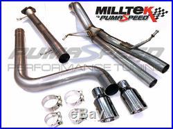 Milltek Sport Fiesta ST Mk7 Cat Back Exhaust (Supersport) OVER STOCK PRICE