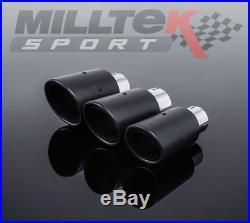 Milltek Sport Fiesta ST180 Cat Back Exhaust NONE resonated (Race Version)