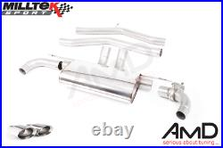 Milltek Toyota Supra A90 Coupe 3.0 Turbo GPF OPF Race Back Exhaust SSXTY113