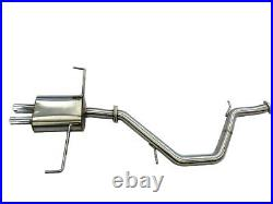 OBX Racing Cat-Back Exhaust System for 2018 19 20 2021 Toyota Corolla Hatchback