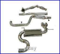 OBX Racing Sports (4Pcs) Turbo-Back Exhaust For 2012-17 Volks Wagen Tiguan 2.0L