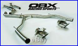 OBX Racing Stainless Turbo Back Exhaust For 2013-2016 Dodge Dart 1.4T 2.0L 2.4L