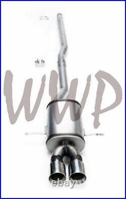 Performance Cat-Back Exhaust Muffler System 07-14 Mini Cooper 1.6L Turbo S & JCW