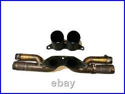 Porsche 911 GT3 991 Bypass Exhaust back box cross pipe