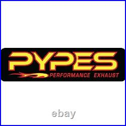 Pypes SJJ21R HGC Cat-Back Exhaust System with Race Pro Muffler for Wrangler JK