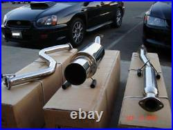 R. Spec Racing Cat-back Exhaust For 96-00 Honda CIVIC 2/4 Dr