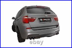 REMUS Axle Back Sport Exhaust BMW X3 F25/ Facelift S-Drive 20i 28i-35i RACE