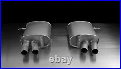 REMUS Exhaust For BMW 335 Axle Back Quad + street race black tips