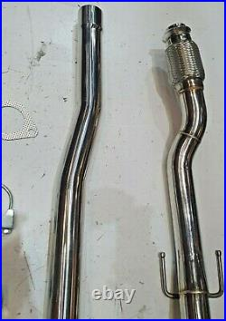 Rd193 2.5 Stainless Cat Back Race Exhaust System For Bmw Mini R56 Cooper S 1.6