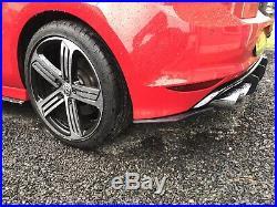 Remus Sport Golf R MK7 Cat Back Exhaust RACE Non Res Valved Slash Tips