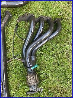 ST150 miltek Exhaust System Decat, 4-1 Race Manifold, Non Res Centre And Back Box