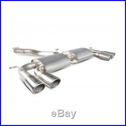 Scorpion Golf R MK7 Exhaust Cat Back 3 RACE System NO VALVE NonRes OVAL SVWS044