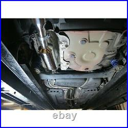 Skoda Fabia VRS 1.4 TSI Resonated Cat Back Cobra Exhaust (incl Race Pipe) SK14