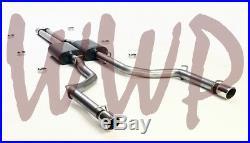 Stainless Dual 3 Cat Back Exhaust System 05-10 Chrysler 300 C 300C SRT8 6.1L V8