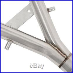 Stainless Race Exhaust Turbo Back System For Mazda Rx7 Rx-7 Fc3s 1.3 Turbo 86-92