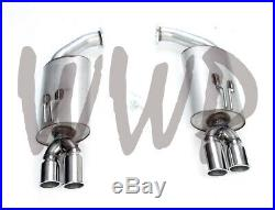 Stainless Steel Axle Back Exhaust Muffler System For 08-09 Pontiac G8 GT 6.0L V8