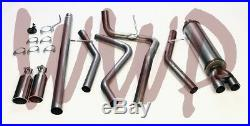 Stainless Steel Dual Cat Back Exhaust Muffler System 04-08 Ford F150 4.6L & 5.4L