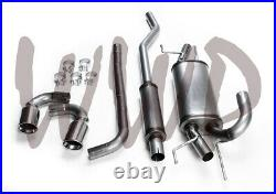Stainless Steel Dual Cat-Back Exhaust System 14-18 Mazda 3 Hatchback 2.0L/2.5L