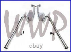 Stainless Steel Header Back Exhaust 66-67 Ford Fairlane V8 With Flowmaster Muffler