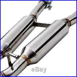 Stainless Steel Race Cat Back Exhaust System For Audi A4 B7 3.2 V6 Quattro 05-08