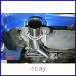 Subaru Impreza Turbo Cobra Turbo Back (Race type) (De-Cat/Non-Res) Exhaust SB30d