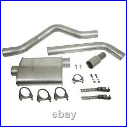 Summit Exhaust System Muffler-Back 3.00 Rear Exit Steel Ford Mazda Pickup