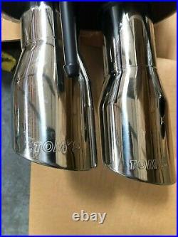 Tom's Racing Axle Back Exhaust for Lexus IS (2006-2013) Dual Tip
